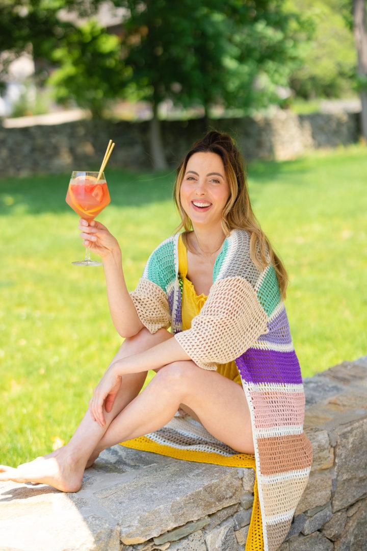 Eva Amurri shares a Rosé Sangria recipe