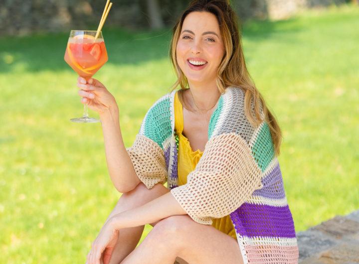 Eva Amurri shares a Pink Sangria recipe