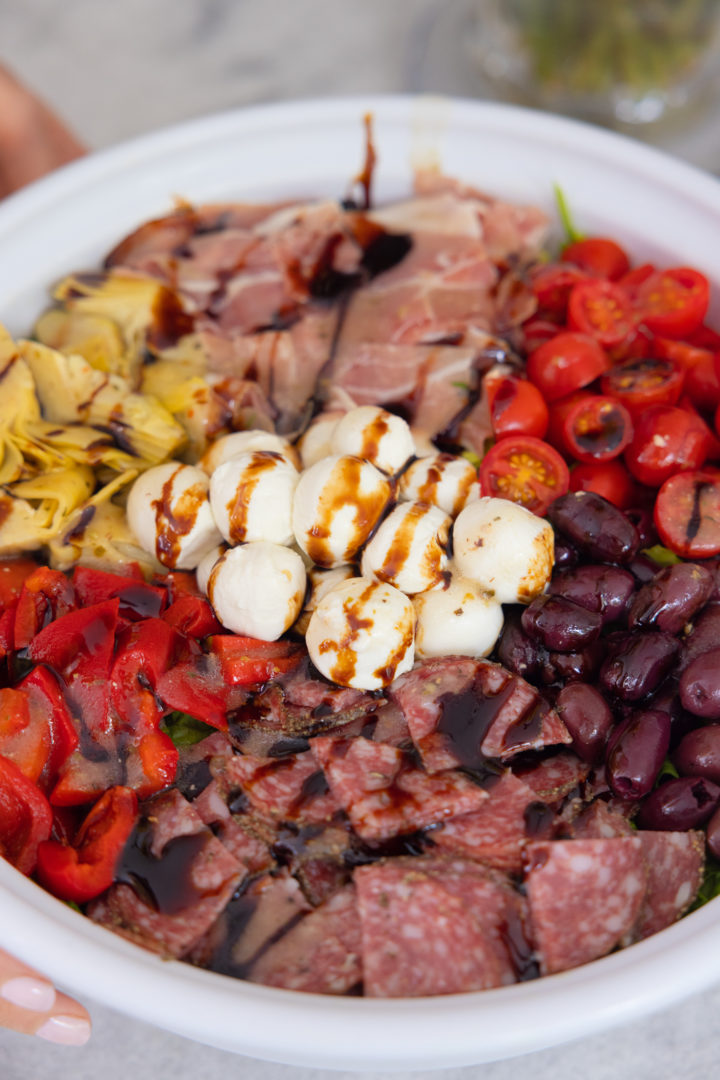 Eva Amurri shares an Antipasto Salad Recipe