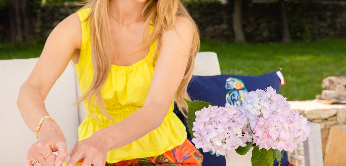 Eva Amurri shares her favorite outdoor entertaining pieces