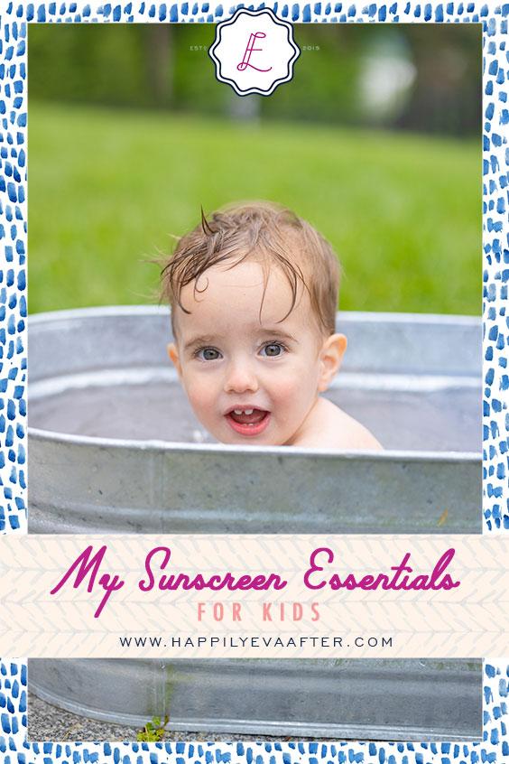 Eva Amurri shares her Sunscreen Essentials for Kids