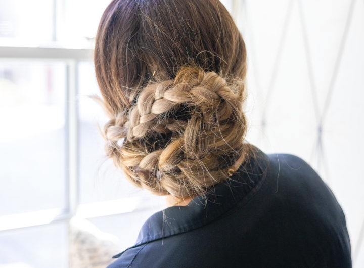 Eva Amurri shares a Double Braided Bun Tutorial