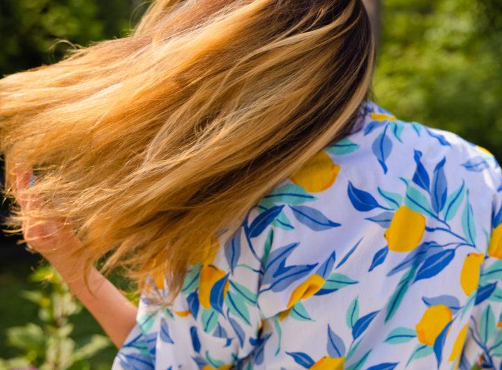 Eva Amurri shares an All-Natural DIY Hair Mask for damaged hair
