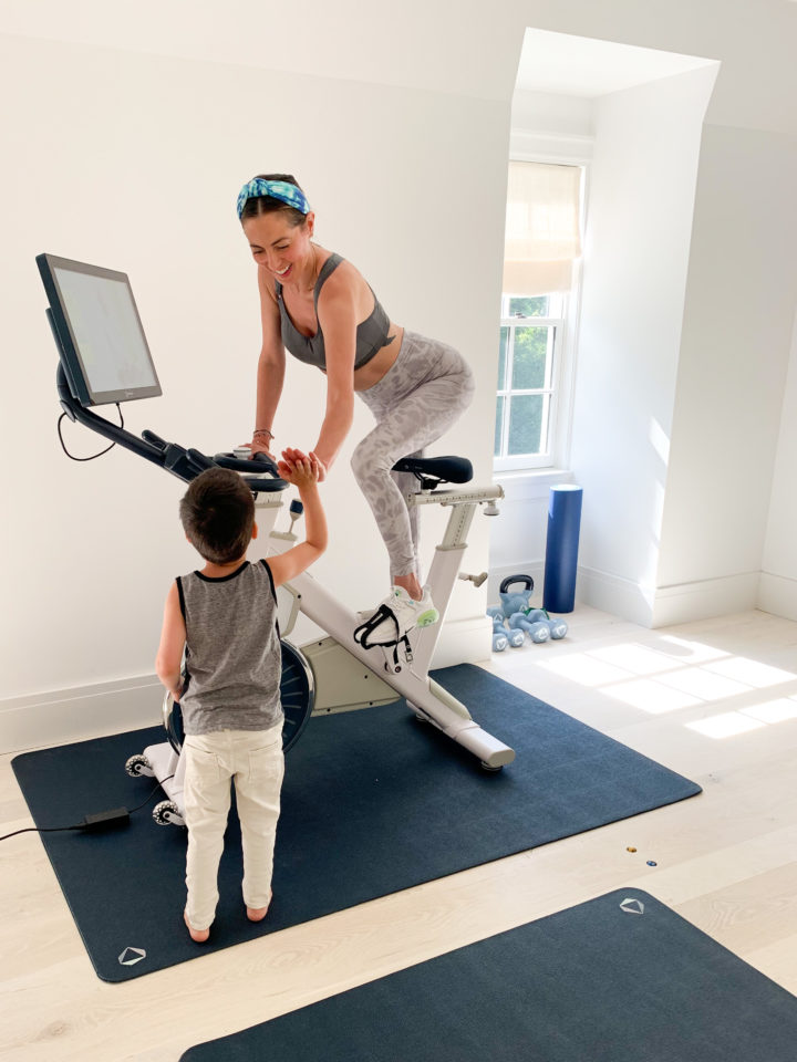 Eva Amurri answers a reader question about fitting in fitness after baby