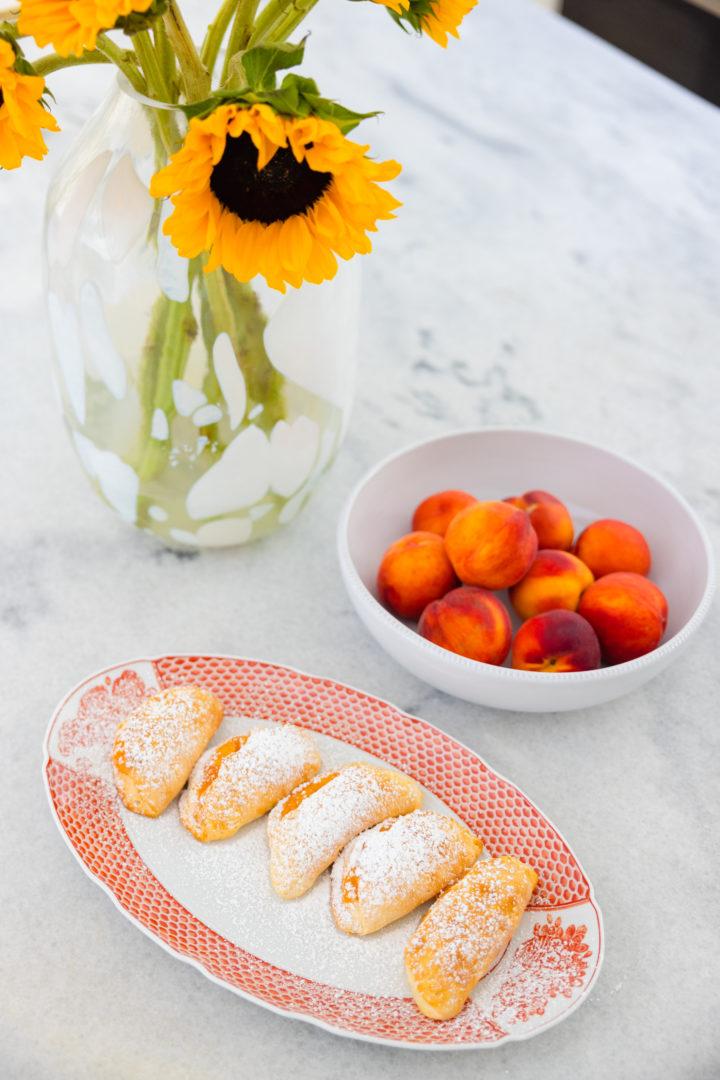 Eva Amurri shares a recipe for Easy Peach Hand Pies