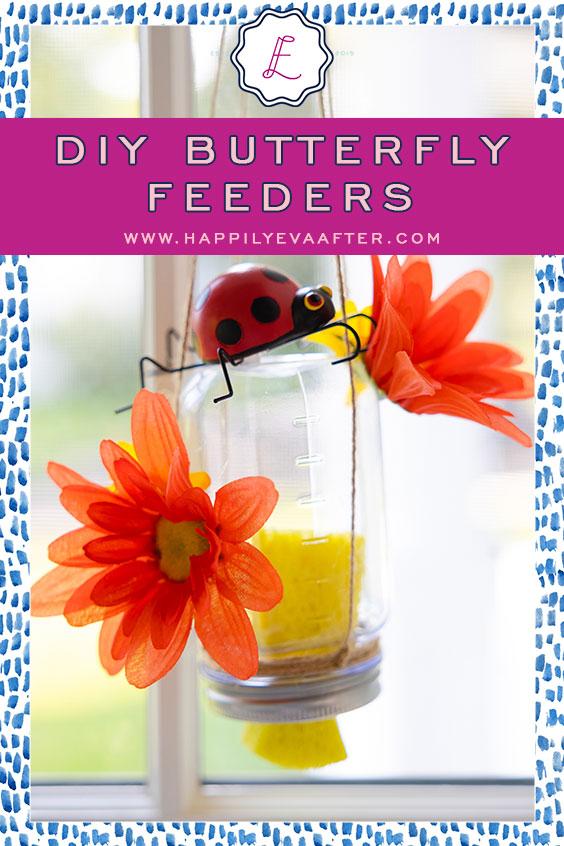 Eva Amurri shares her DIY Butterfly Feeders   Happily Eva After   www.happilyevaafter.com