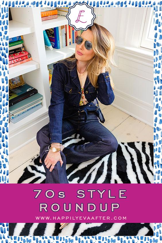 Eva Amurri shares her 70s Style Roundup | Happily Eva After | www.happilyevaafter.com