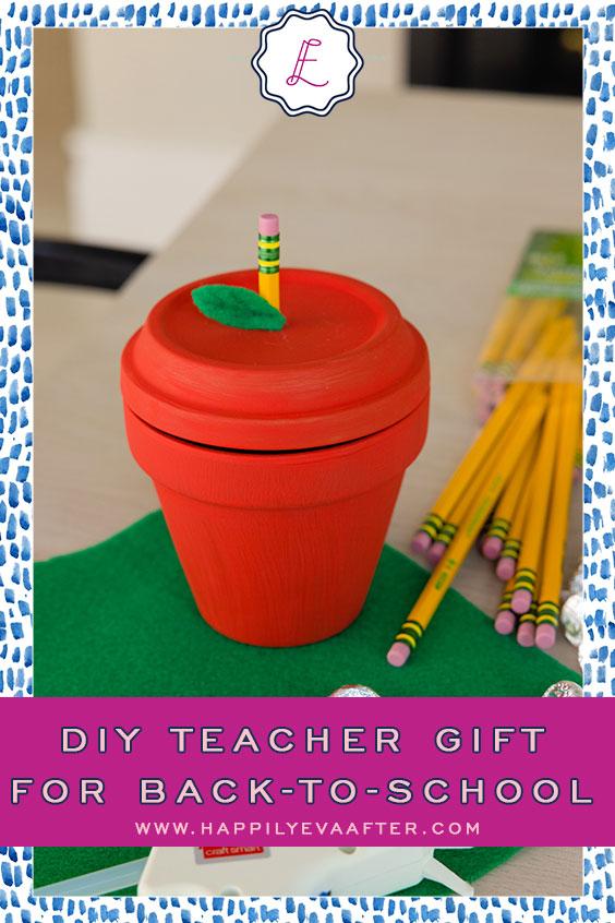 Eva Amurri shares a DIY Teacher Gift for Back-to-School | Happily Eva After | www.happilyevaafter.com