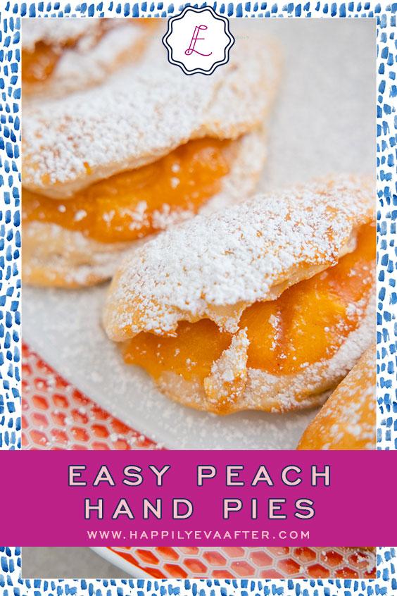 Eva Amurri shares a recipe for Easy Peach Hand Pies | Happily Eva After | www.happilyevaafter.com
