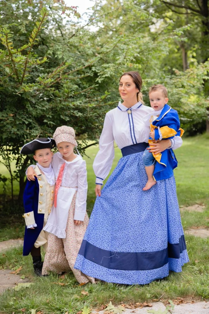 Eva Amurri shares her family's Hamilton theme Halloween Costumes