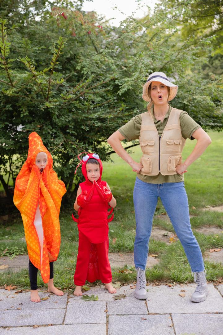 Eva Amurri shares her family's Maine themed Halloween Costumes