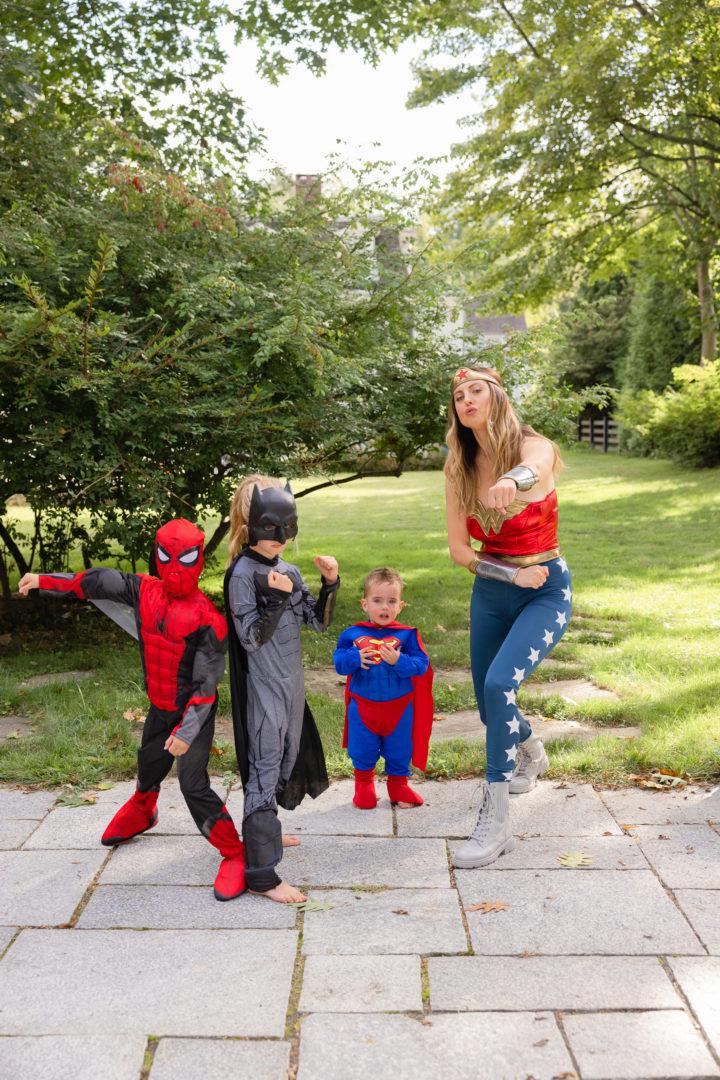 Eva Amurri shares her family's superhero Halloween themed costumes
